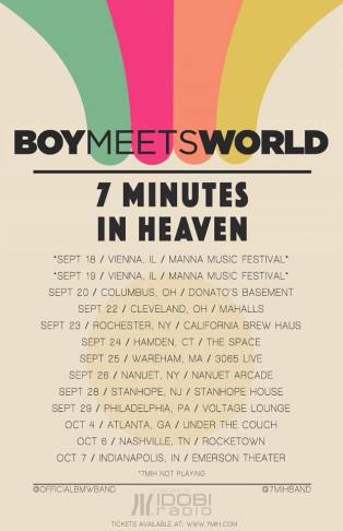 boymeetsworld tour